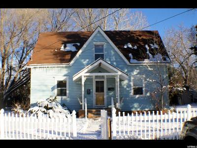 Wasatch County Single Family Home For Sale: 268 N 300 E