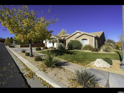 St. George Single Family Home For Sale: 699 E 3470 St S