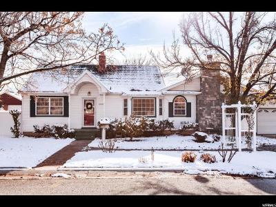 Salt Lake City Single Family Home For Sale: 2210 E Lambourne Ave S