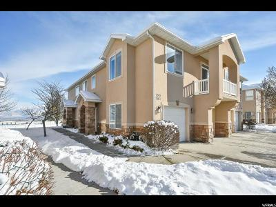 West Jordan Townhouse For Sale: 7367 S Brittany Town Dr W