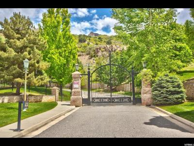 Salt Lake City Residential Lots & Land For Sale: 3641 E Chateau Park Cv