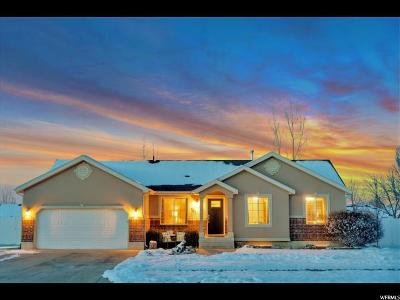 Nibley Single Family Home For Sale: 907 W 2880 S