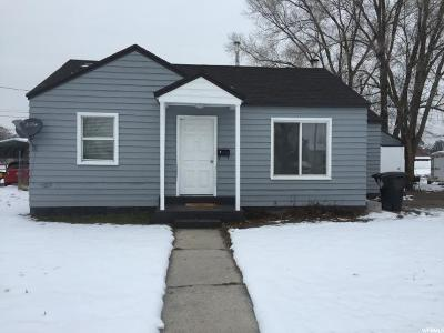 Provo UT Single Family Home For Sale: $182,500