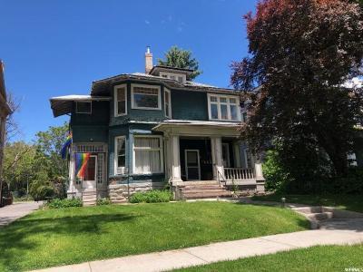 Salt Lake City Multi Family Home For Sale: 627 E 100 S