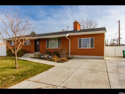 Davis County Single Family Home For Sale: 2095 S 800 W