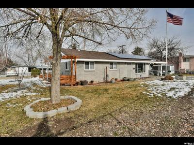 West Valley City Single Family Home For Sale: 4498 W 4695 S