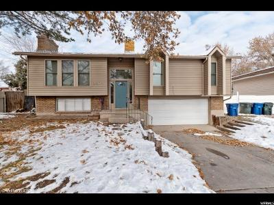 West Valley City Single Family Home For Sale: 3524 W Bristol Way