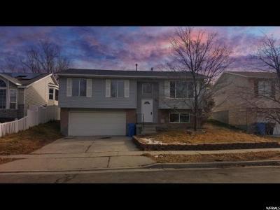 Salt Lake County Single Family Home For Sale: 5755 S 3225 W