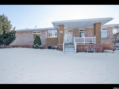Wasatch County Single Family Home For Sale: 470 E Ridge Dr