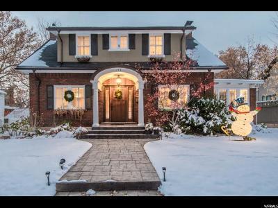Salt Lake City UT Single Family Home For Sale: $875,000