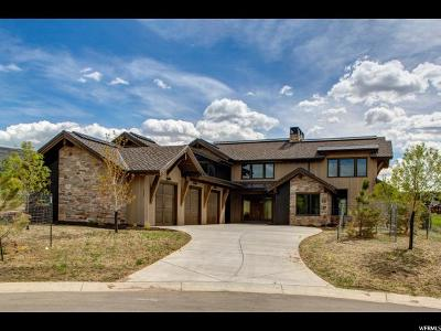 Wasatch County Single Family Home For Sale: 532 N Red Mountain Court (219) #219