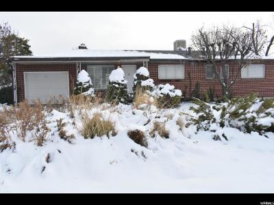 Cottonwood Heights Single Family Home For Sale: 2768 E Carole Dr S