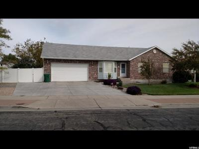 West Jordan Single Family Home For Sale: 5006 W Wood Spring Dr