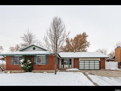 South Jordan Single Family Home For Sale: 4197 W Ben Armine Cir