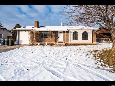 West Valley City Single Family Home For Sale: 5014 W Odell Dr S