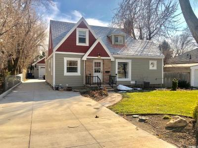 Salt Lake City Single Family Home For Sale: 1540 E 3350 S