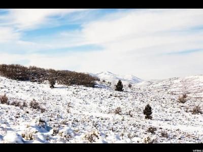 Wasatch County Residential Lots & Land For Sale: 6833 N Whispering Way
