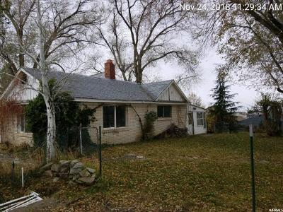 Single Family Home For Sale: 4163 W 9950 N
