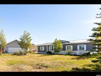 Park City Single Family Home For Sale: 7480 N Whileaway Rd