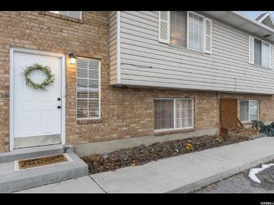 Pleasant Grove Townhouse For Sale: 1554 Garden Dr