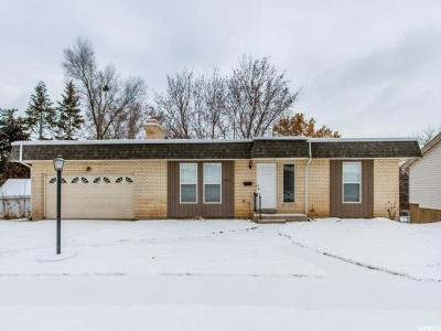 Weber County Single Family Home For Sale: 5083 S 2600 W