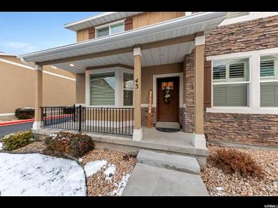Weber County Townhouse For Sale: 255 W 2700 N #43