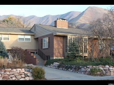 Salt Lake City Single Family Home For Sale: 1145 S Oak Hills Way