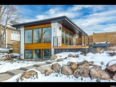 Salt Lake City Single Family Home For Sale: 434 N A St E