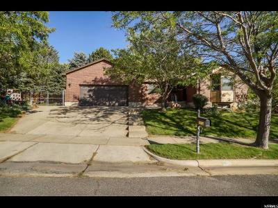Davis County Single Family Home For Sale: 2112 Sunset Dr