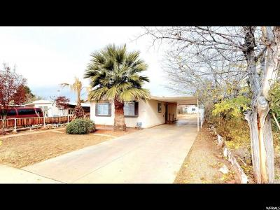 St. George Single Family Home For Sale: 1940 W 1575 N