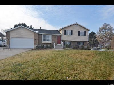 Davis County Single Family Home For Sale: 1604 S Sorrento