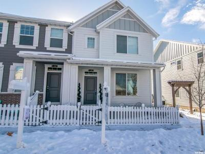 Davis County Townhouse For Sale: 265 E 340 N