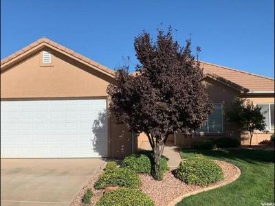 St. George Single Family Home For Sale: 1806 N Dixie Downs Rd #13