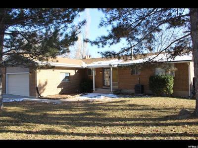 West Jordan Single Family Home For Sale: 7163 S 2420 W