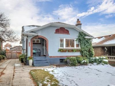 Salt Lake City Single Family Home For Sale: 1476 E 1300 S