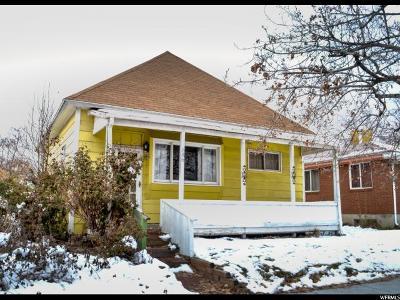 Salt Lake City Single Family Home For Sale: 686 S 1200 W