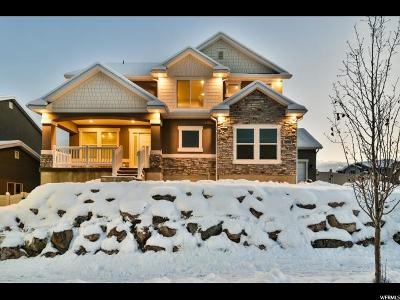 Herriman Single Family Home For Sale: 4463 W Meadow Bend Dr