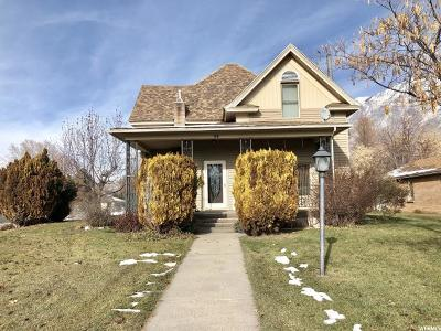 Springville Single Family Home For Sale: 94 W 100 N