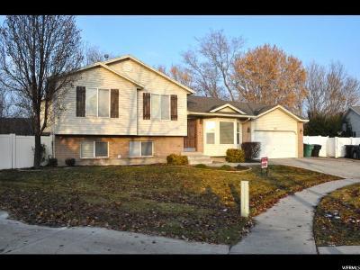 Murray Single Family Home For Sale: 6227 S Short Iron Cir