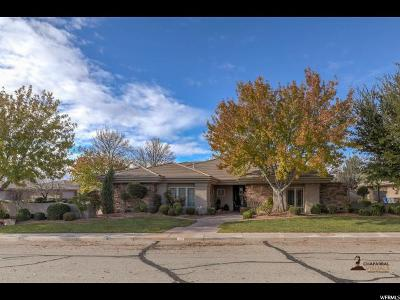 St. George Single Family Home For Sale: 70 S 1840 W