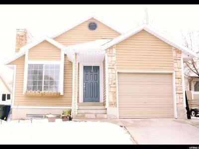 West Jordan Single Family Home For Sale: 3155 W 8525 S