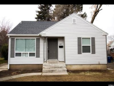 Weber County Single Family Home For Sale: 3357 S Quincy Ave E
