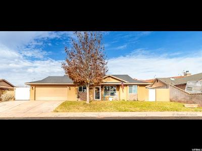St. George Single Family Home For Sale: 1586 W 1510 N