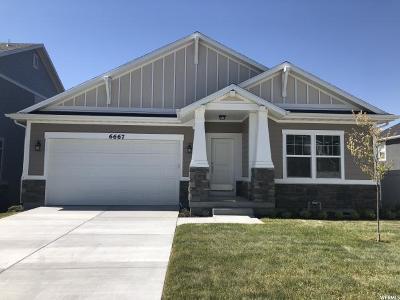 West Jordan Single Family Home For Sale: 6667 W Terrace Sky Lane Ln S #207