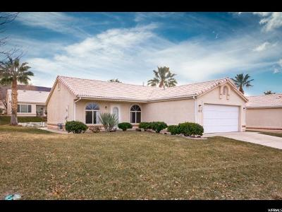 St. George Single Family Home For Sale: 225 Valley View Dr N #107