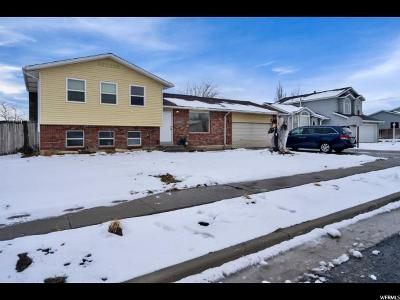 South Jordan Single Family Home For Sale: 10161 Menteith St