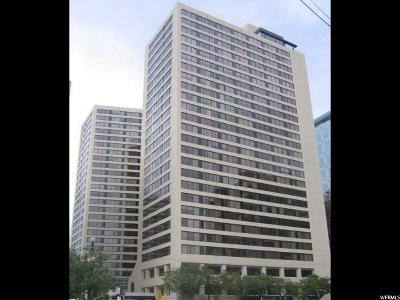Salt Lake City Condo For Sale: 48 W 300 S #304