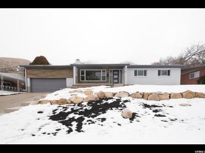 Salt Lake City Single Family Home For Sale: 3169 S Plateau Dr