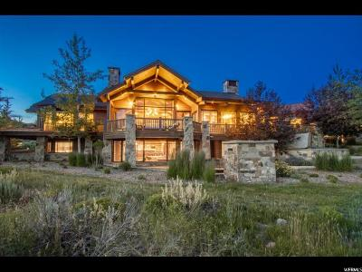 Park City Single Family Home For Sale: 2832 Blue Sage Trl