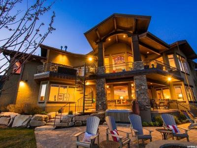Park City Single Family Home For Sale: 9230 N Sand Trap Ct